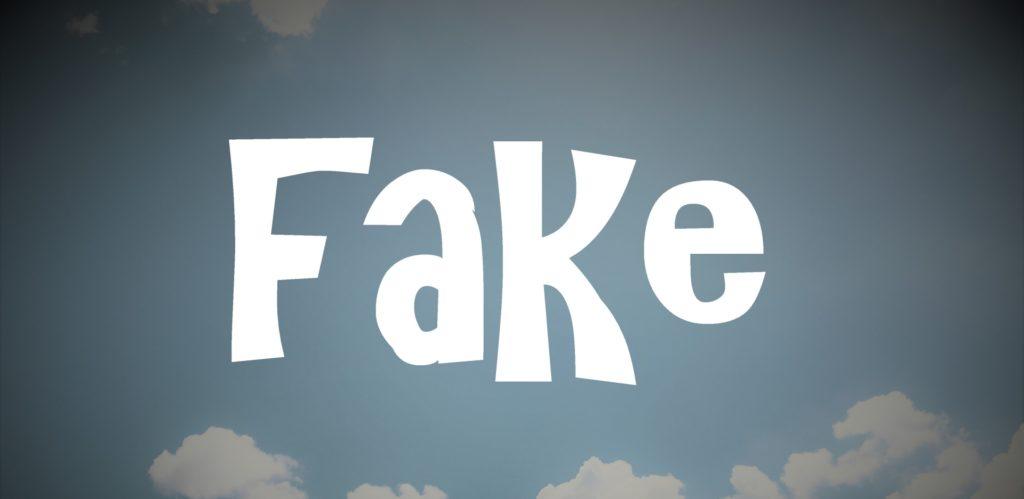 偽物のイメージ画像