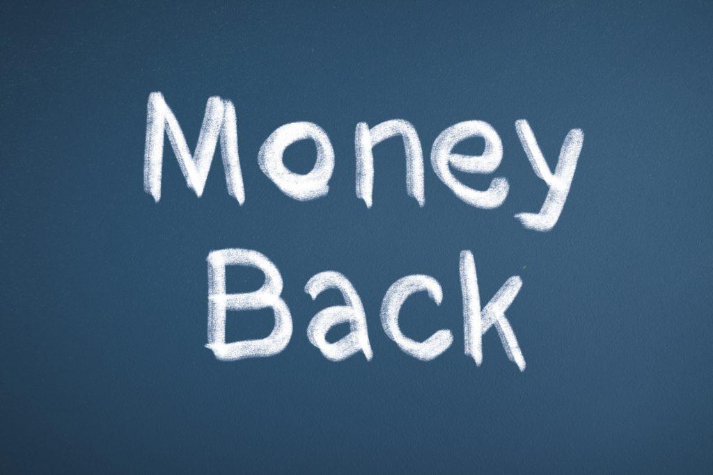 返金のイメージ画像