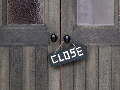 在庫と売上管理をサボると倒産するイメージ画像